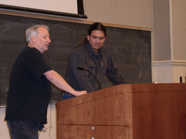 Joe Lansdale at TTU Oct18 2007
