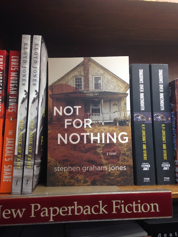 Boulder Bookstore, early March. thanks to Audra Figgins for the snap