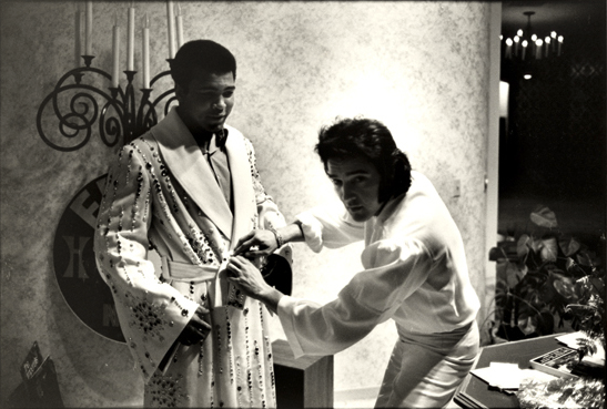 Elvis and Ali