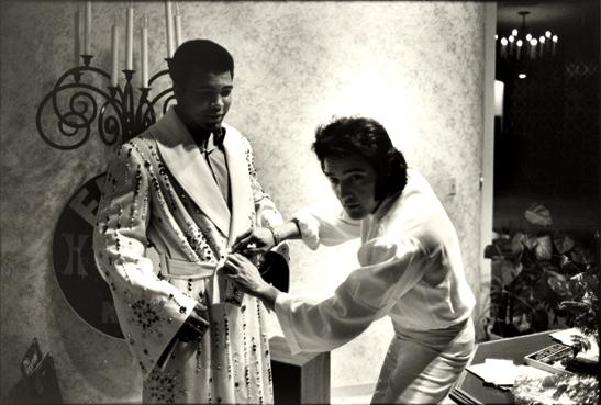 Elvis and Ali