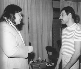 Meat Loaf and Freddy Mercury