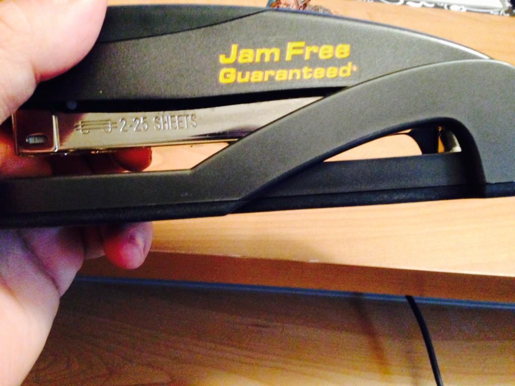 my stapler